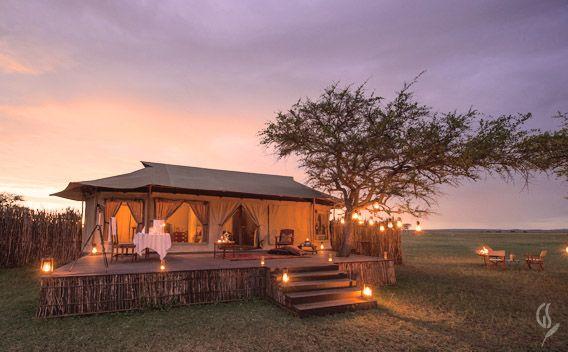 Luxury safari tents at Singita Sabora & Luxury safari tents at Singita Sabora | Glamping | Luxury tents ...