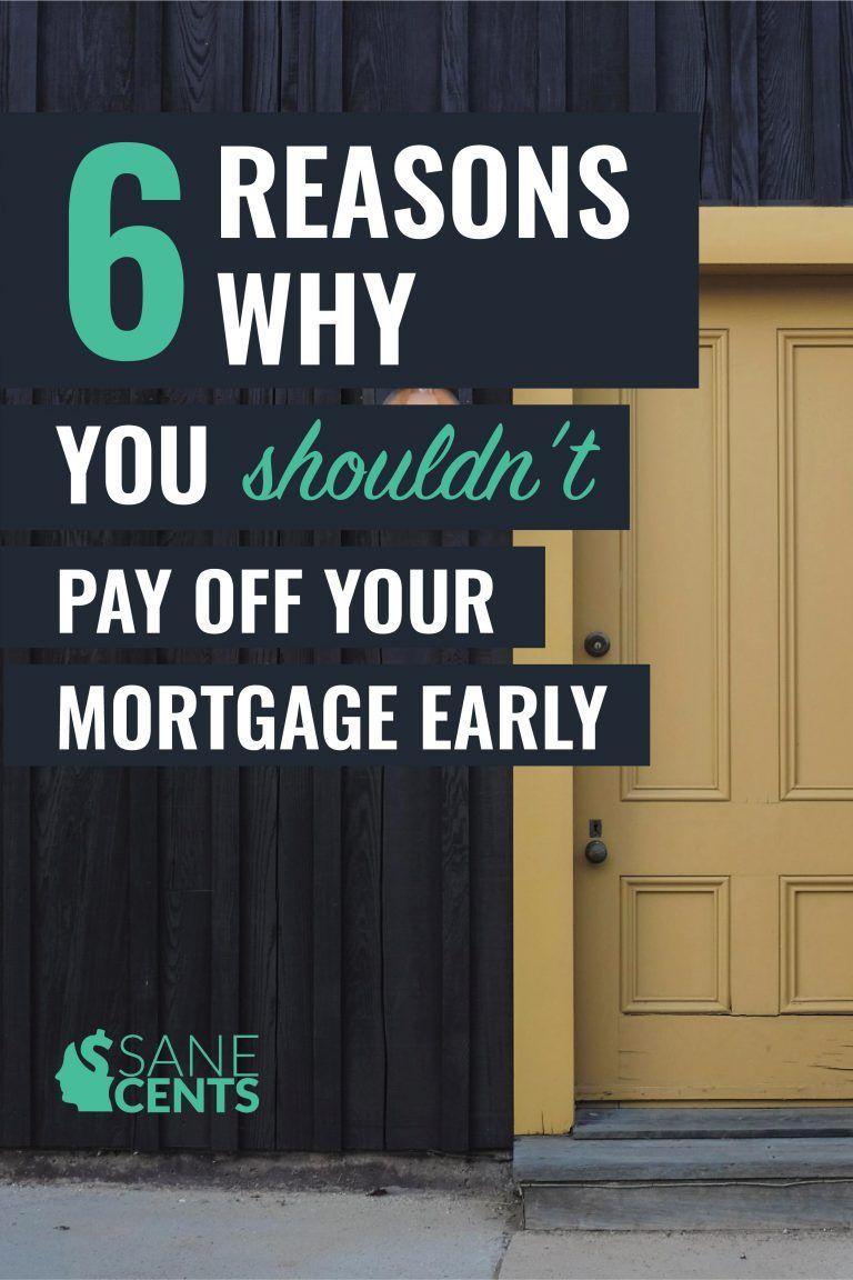 6 reasons why you shouldnt pay off your mortgage early