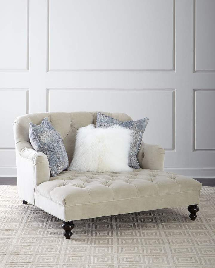 Old Hickory Tannery Valentina Tufted Chaise is part of Chaise - Shop Valentina Tufted Chaise  from Old Hickory Tannery at Horchow, where you'll find new lower shipping on hundreds of home furnishings and gifts