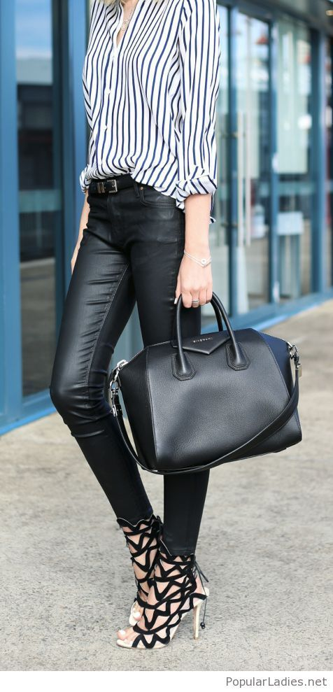 leather-pants-and-bag-with-awesome-sandals