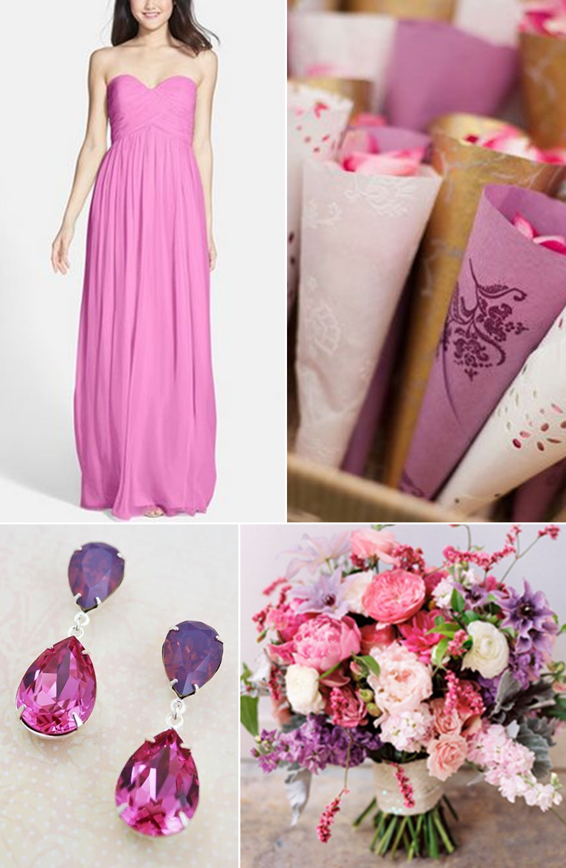 Hues You'll Heart: Bridesmaid Dress Edition - Pretty in Pink http://www.theperfectpalette.com/2014/07/hues-youll-heart-bridesmaid-dress.html