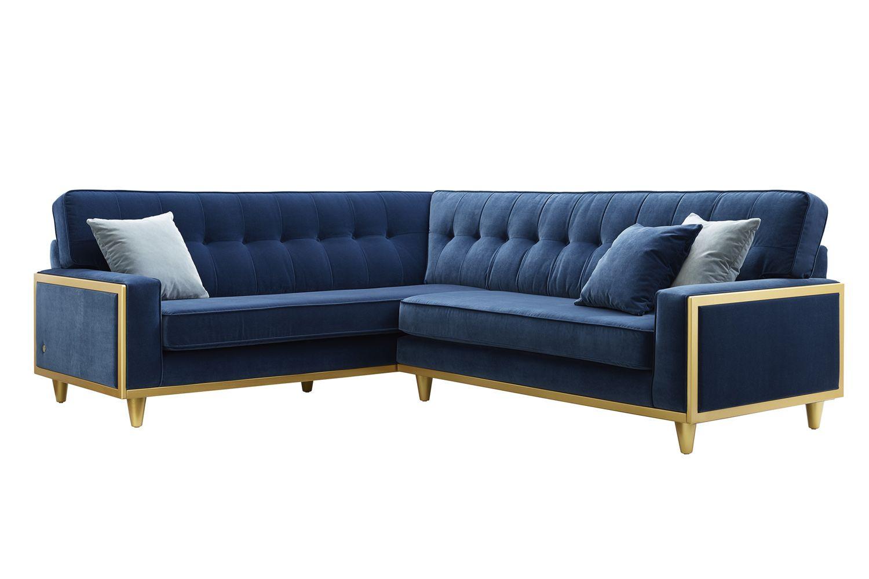 G Plan Vintage 59 Corner Sofa 59cor Velvet Indigo Gold With 050116 X11426 Jpg 1500