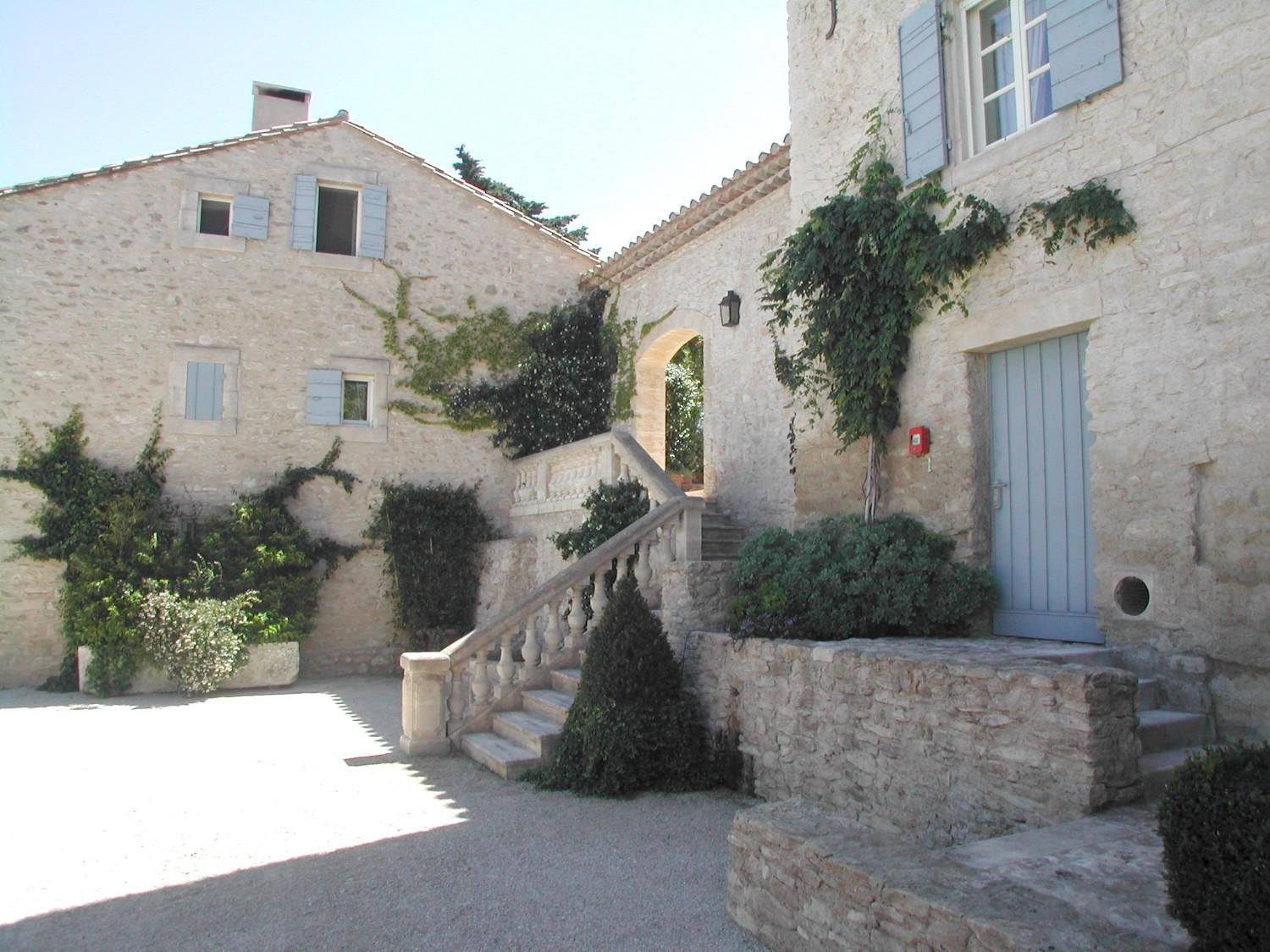 Renovations : Renovation of old farmbuildings - A. Nelson Architect, Landscape in Provence, France
