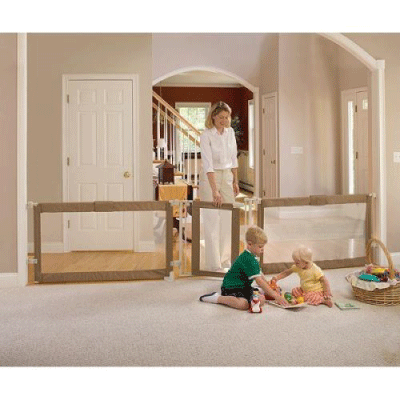 BIG baby gate - must check out...