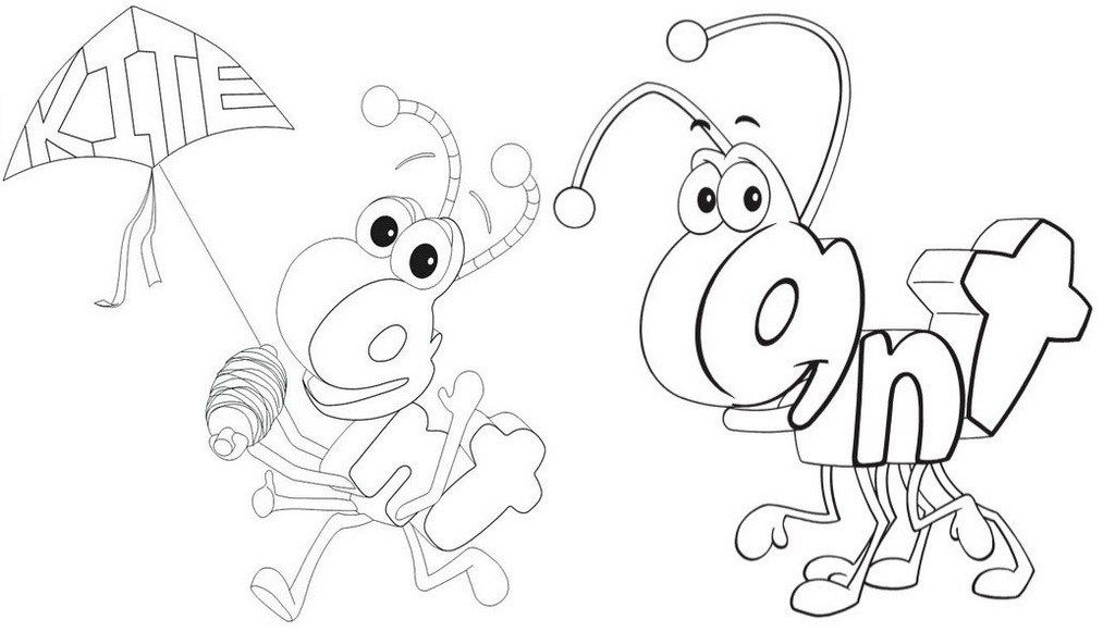 Cute Wordworld Coloring Pages For Preschool Children