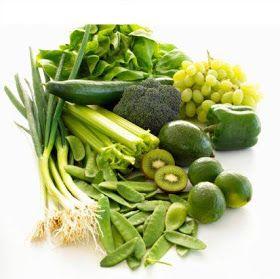 Frutas y Verduras de color verde. ¿Por qué son tan poderosas?
