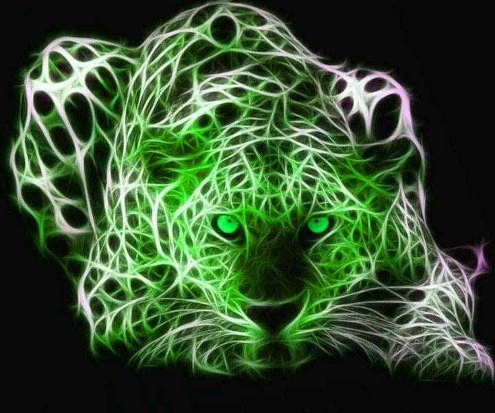 Green Tiger Tiger Wallpaper Tiger Art Leopard Wallpaper