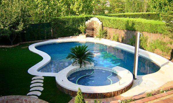 piscinas con jacuzzi alberca pinterest jacuzzi