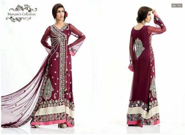 Beautiful long maxi dresses in pakistan