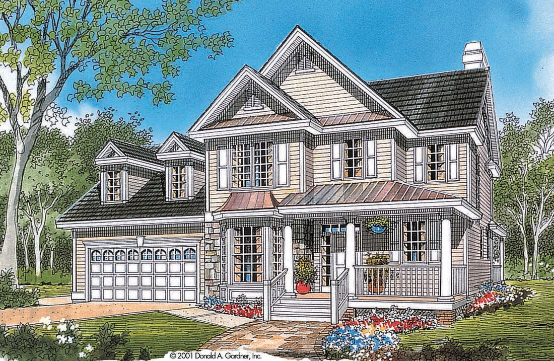 The Meadowsweet House Plan By Donald A Gardner Architects Sims House Plans House Plans House