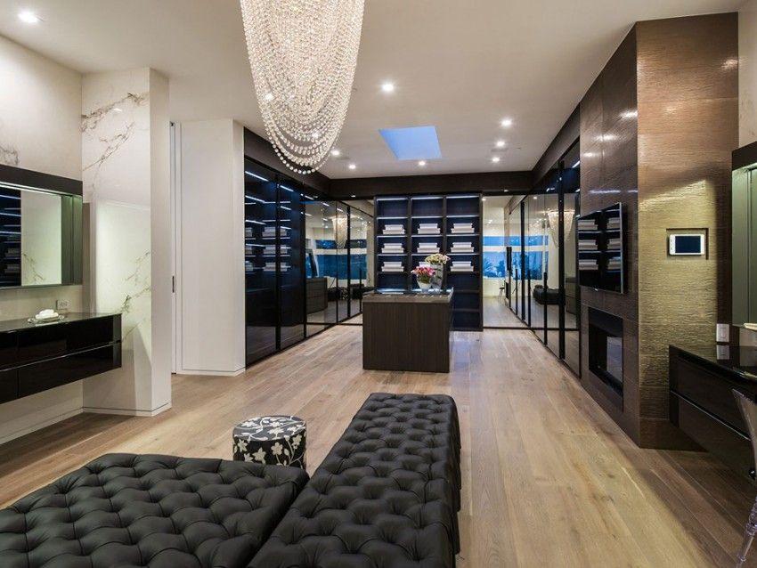 beverly grove residence by avi osadon begehbarer kleiderschrank kleiderschrank und luxus