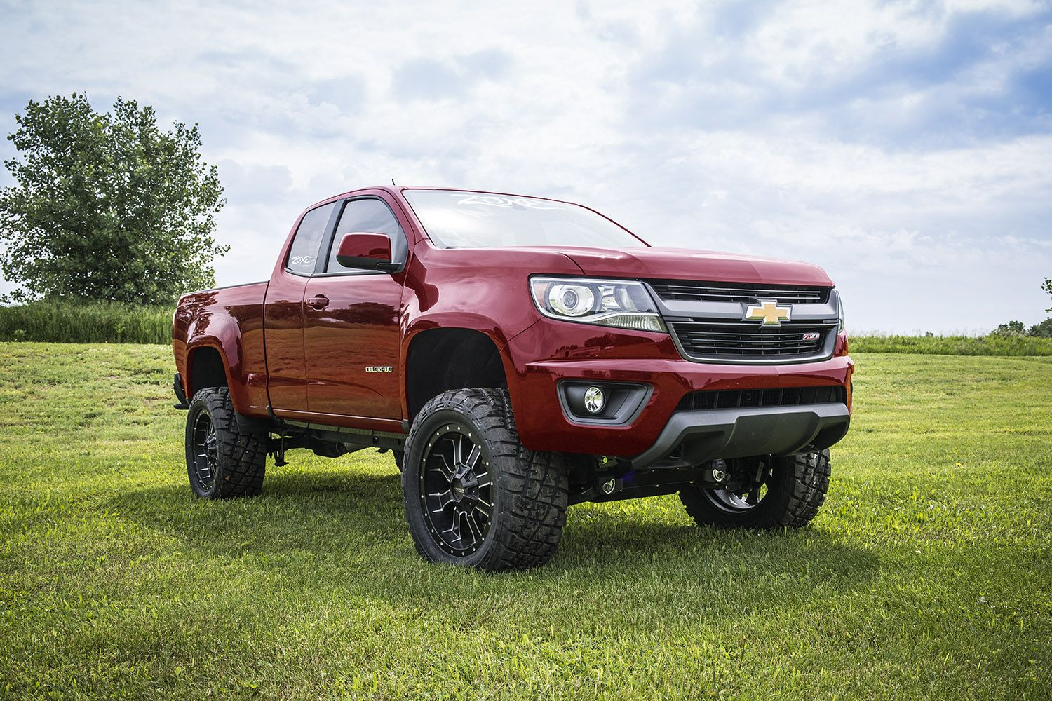 Zone Offroad Products 2015 Colorado Canyon Lift Kits Chevy