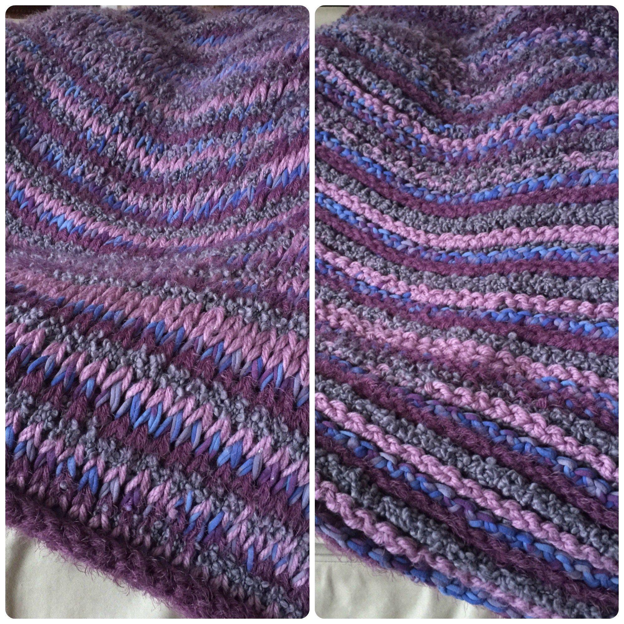Vineyard Throw - Tunisian crochet pattern. Free beginner afghan ...