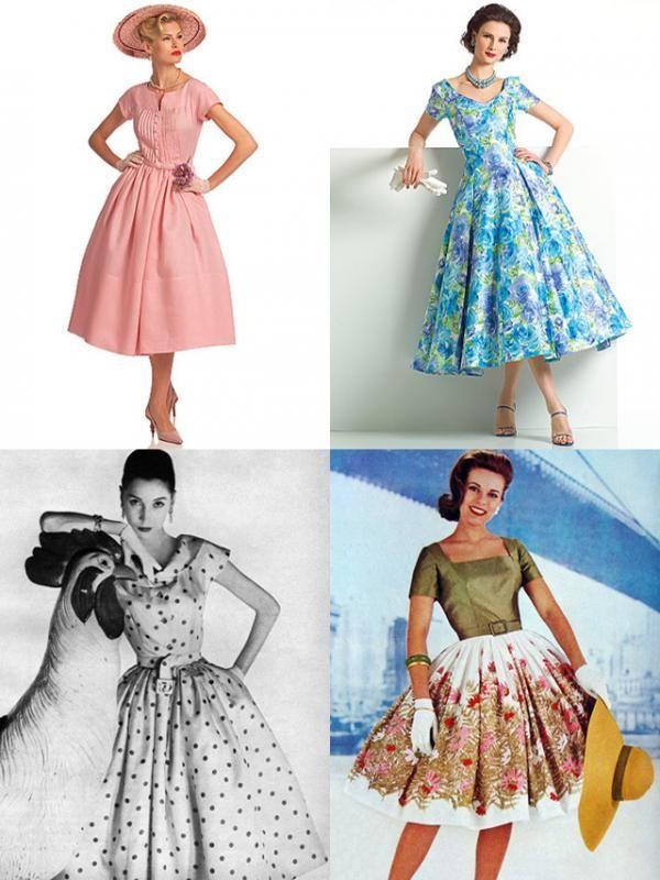 101947c6e Como fazer um vestido retro dos anos 60 - 8 passos
