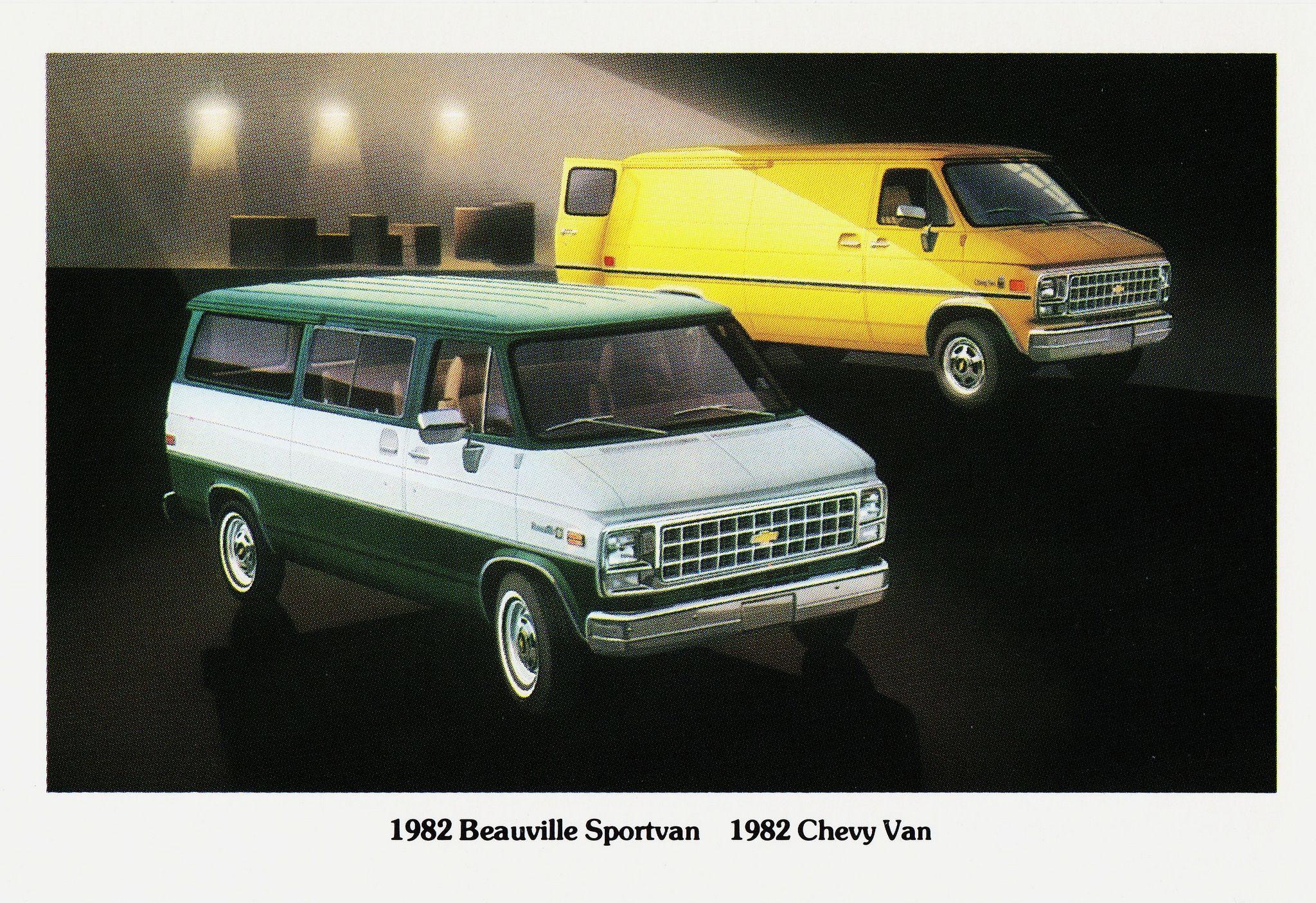 1982 Chevrolet Beauville Sportvan Chevy Van Chevy Van Van Chevrolet