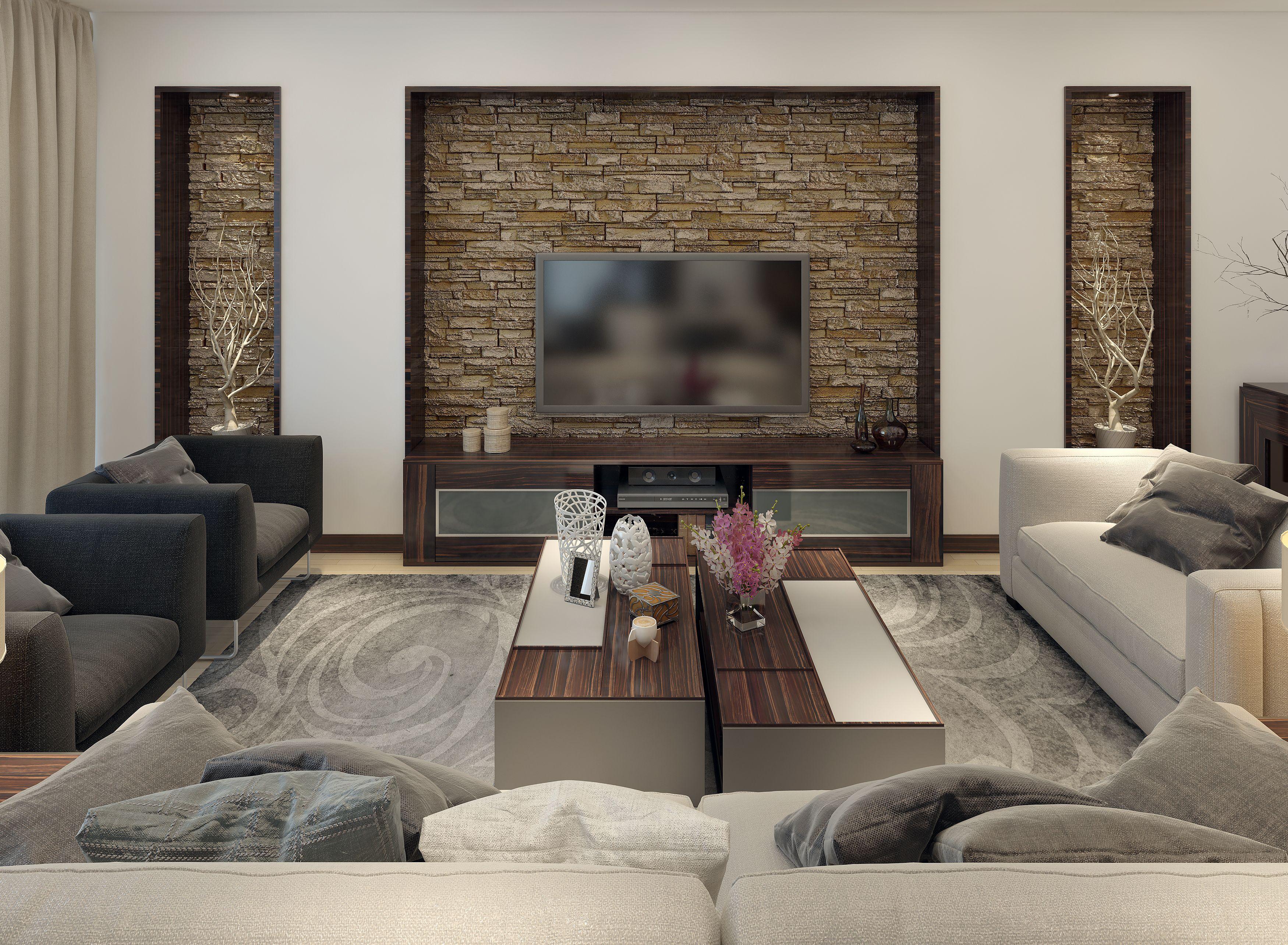 Juega con los espacios mezclando texturas y acabados por for Decoracion apartamentos modernos