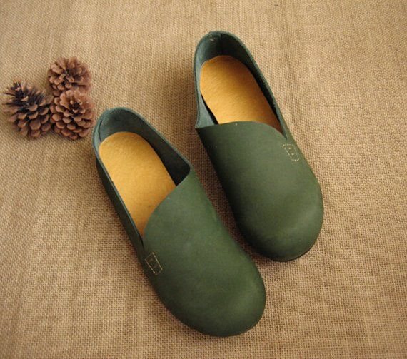 ff7a68ec85e3 Items similar to 3 Colors! Handmade Flat Shoes for Women