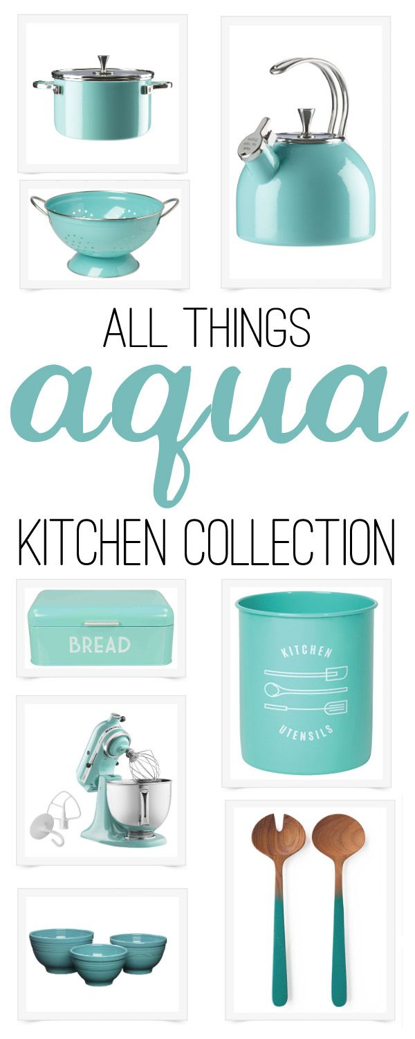 Kitchen Collection: all about aqua (& turquoise) | Home Renovation ...