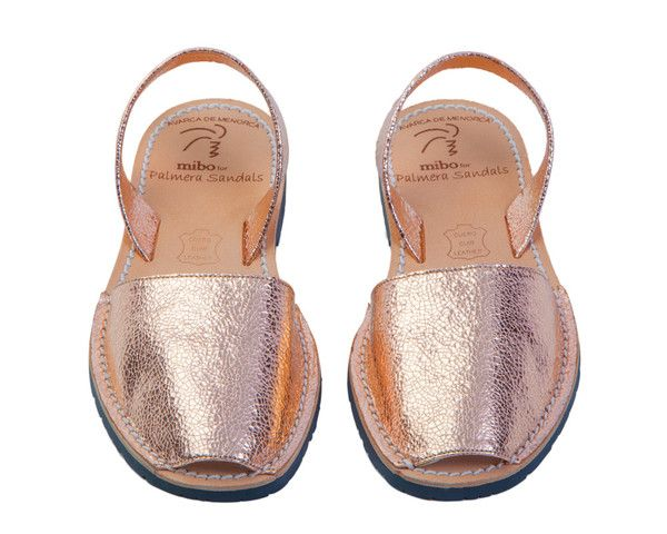Rose Metallic | Palmaira sandals, Leather sandals handmade