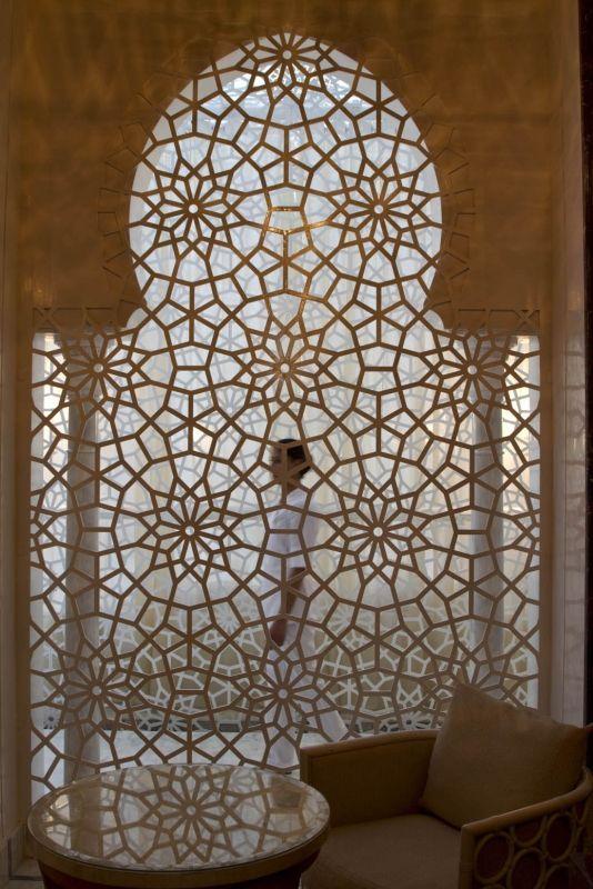 Islamic design archway