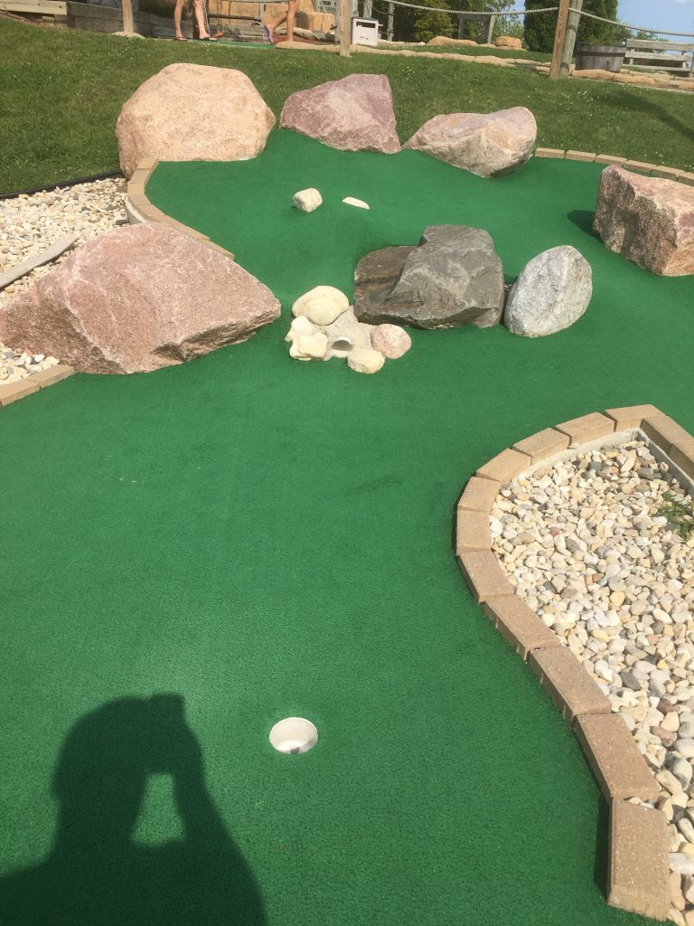 Pin On Mini Golf World Mini backyard golf course