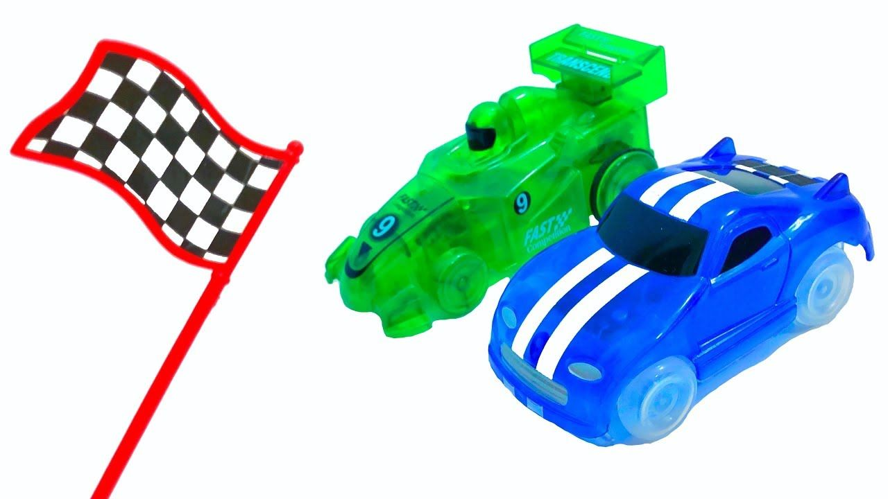 Mr Joe Started Race On Faster Magic Cars Diy Magic Track For Kids Watch Video Diycar Faster Magic Started Track Video Wat Magic Car Diy Car Racing