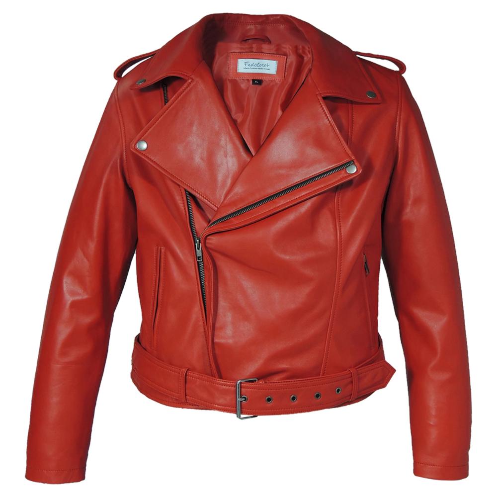 Womens Moto Lipstick Red Leather Jacket Leather Jacket Red Leather Jackets Women Leather Jackets Women [ 1000 x 1000 Pixel ]