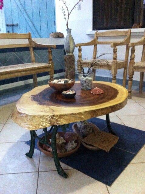 Mesas de madera rustica mesa madera rstica mesa rstica for Mesas antiguas rusticas
