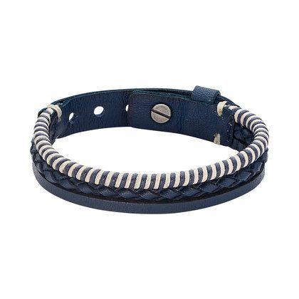 fossil armband leder