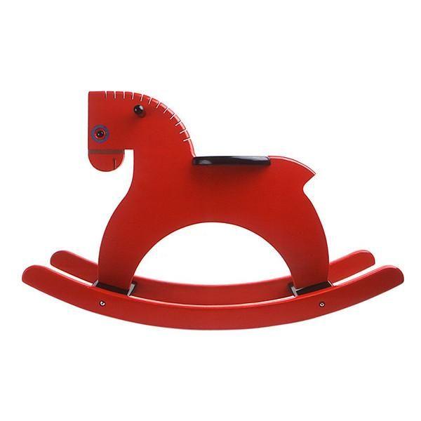 Playsam wooden rocking horse