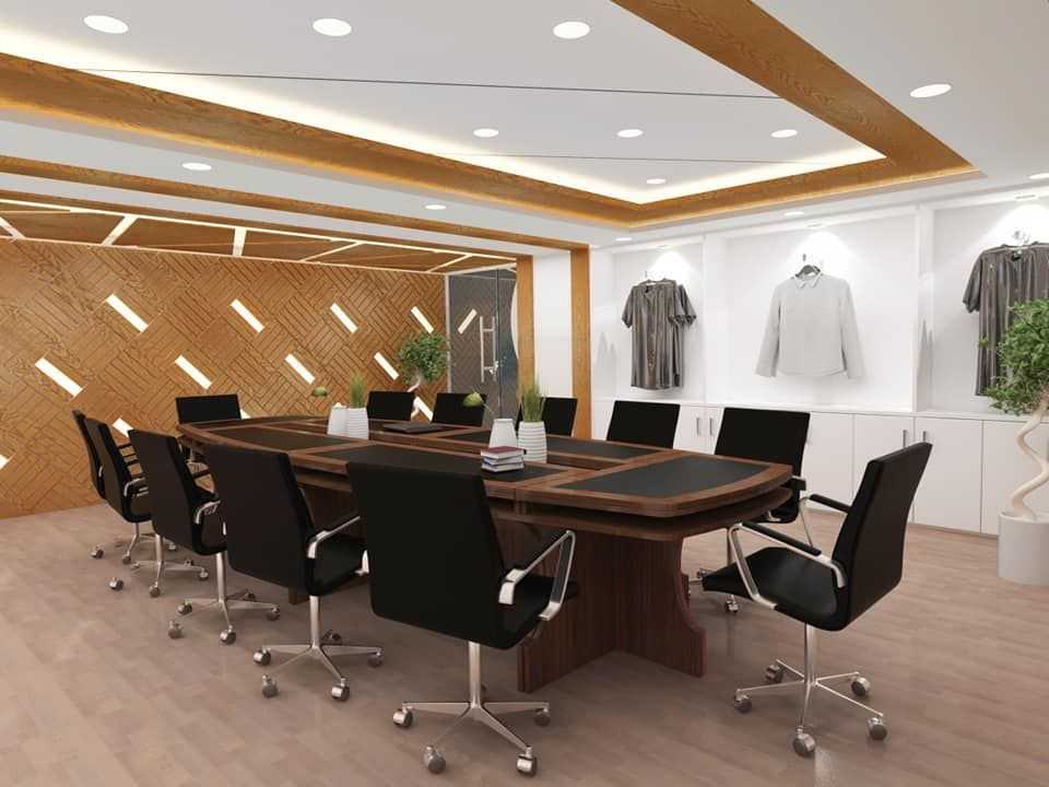 Conference Room Interior Garments Sample Discussion Room Design Ideas Conference Room Ceiling Design Conference Room Wall Pan Room Design Room Interior Room