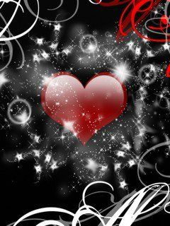 Cute Animated Love Heart Wallpapers For Mobile Hd 16 240x320