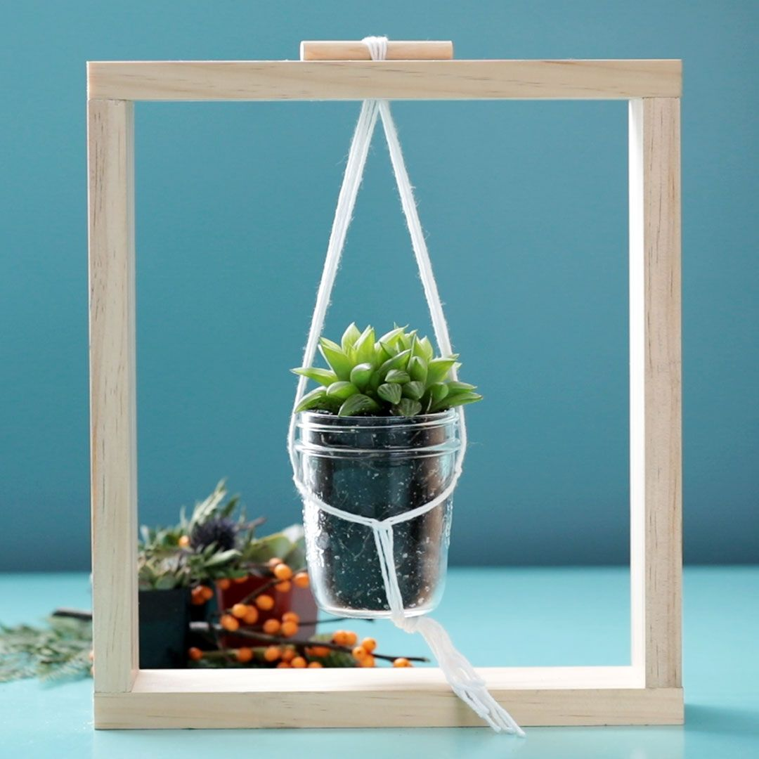 DIY Framed Planter -   18 plants DIY wood ideas