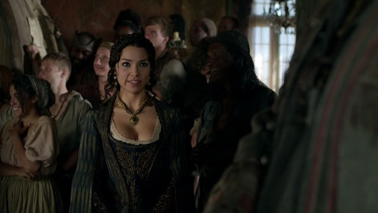 Jessica Parker Kennedy as Max in Black Sails series