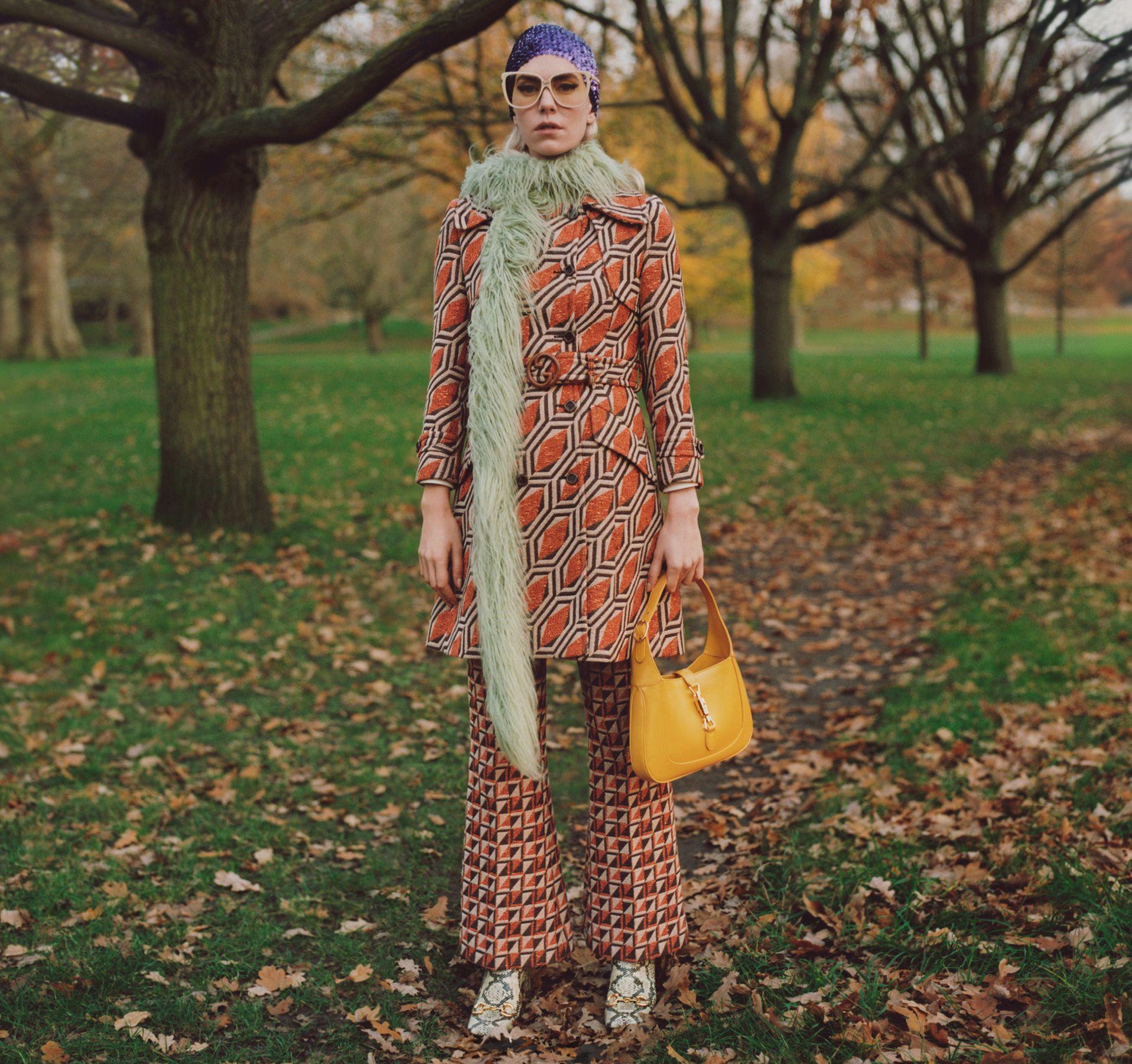 Gucci 'Winter In The Park' Spring 2021 Ad Campaign