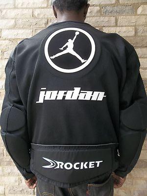 MICHAEL JORDAN JOE ROCKET 2K7 MESH MOTORCYCLE JACKET