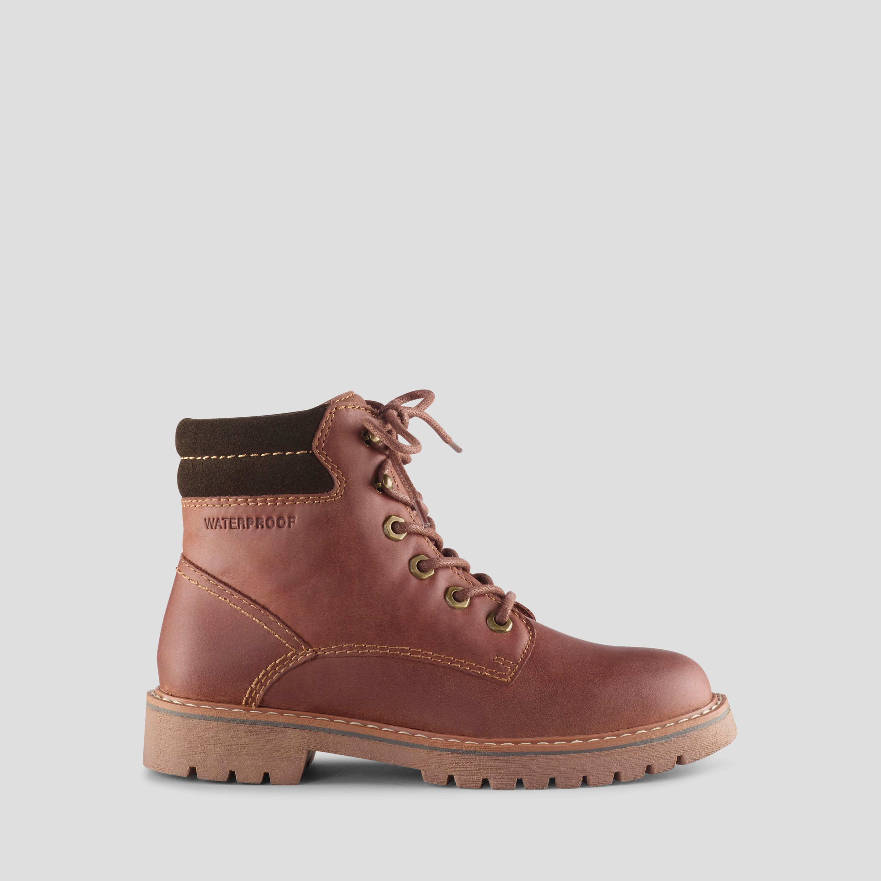 b8254fe9e5ab Cougar Heston Leather Hiker Boot - Brown