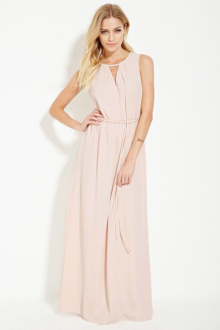 Contemporary Cutout Maxi Dress Cutout Maxi Dress Light Pink Maxi Dress Maxi Dress [ 1125 x 750 Pixel ]
