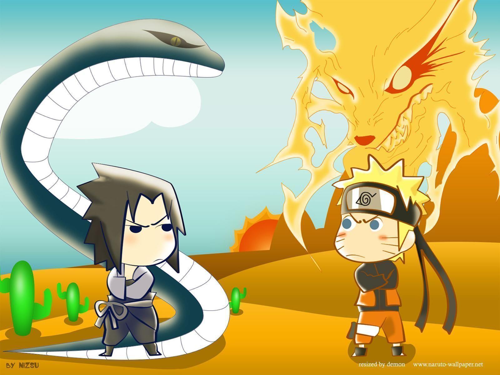 3d Bergerak Wallpaper Anime Naruto Keren