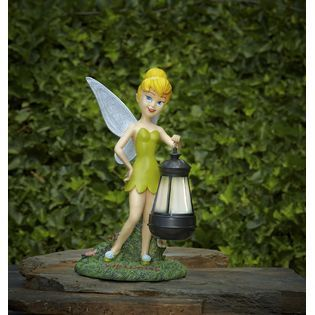 12in Tinkerbell With Solar Lantern · Solar LanternsTinkerbellOutdoor DecorProduct  ...