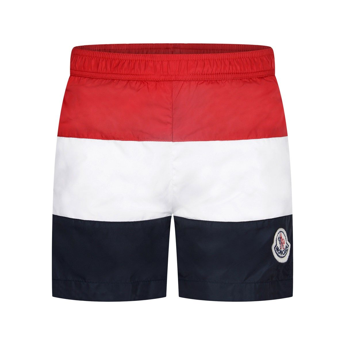 Moncler Boys Red & Navy Striped Swim Shorts | Drenge | Pinterest ...