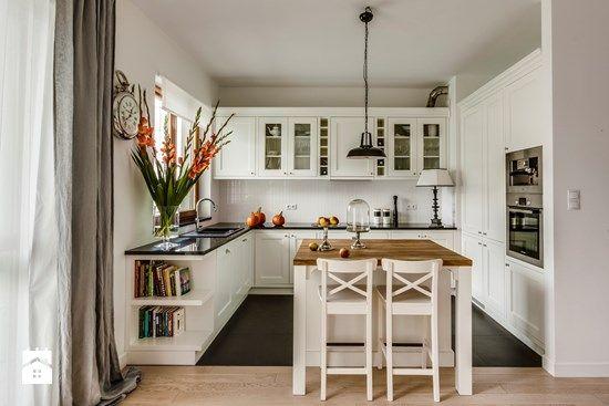Biała Kuchnia Aranżacje Home Ideas Kitchen Interior