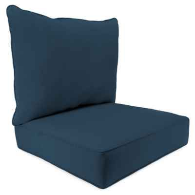 Product Image For 46 Inch X 25 Inch 2 Piece Deep Seat Chair Cushion