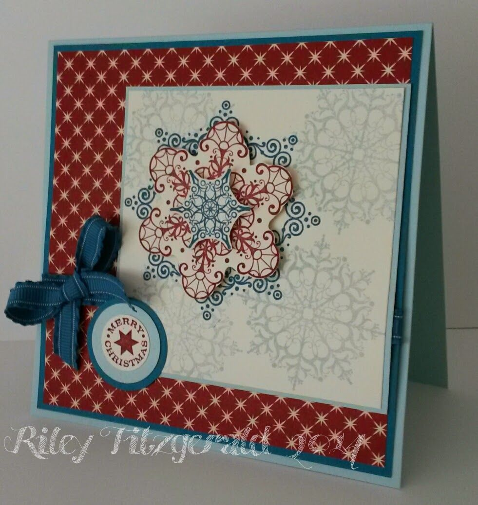 Stampin' with Riley: Serene Merry Christmas