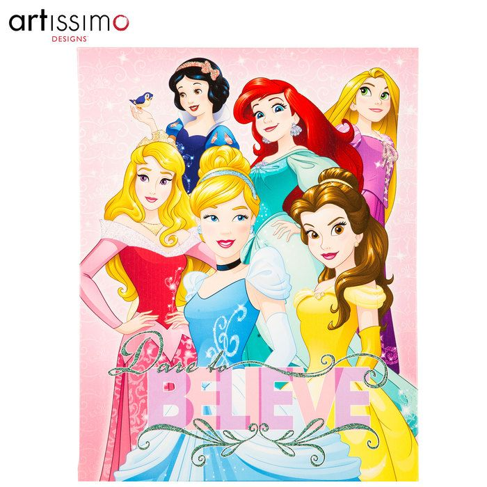 Get Dare To Believe Disney Princess Canvas Wall Decor Online Or Find Other Canvas  Art Products