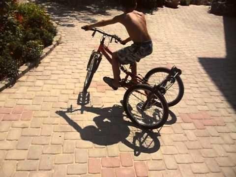 Трехколесный велосипед своими руками чертежи Экстрим спорт
