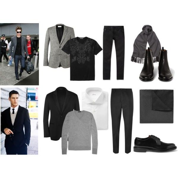 Consejos para combinar el negro con el color gris - Colores para combinar con gris ...
