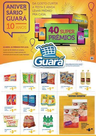 34ec7c4907 Encarte Supermercado Guará - Novembro 01 Ofertas válidas de 30/10 à 05/11.