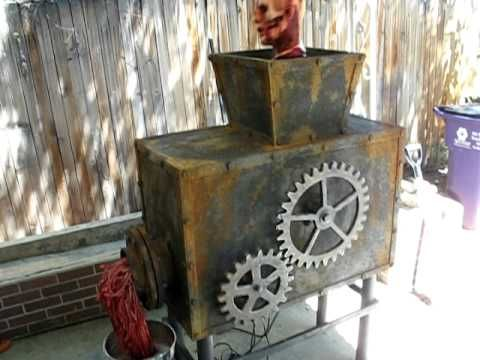 The Meat Grinder - Halloween Prop - YouTube One of my favorite props