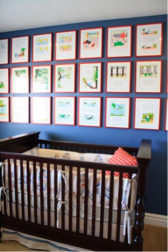 Easy Inexpensive Nursery Art Babar Babble